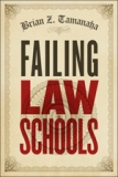book cover, Failing Law Schools