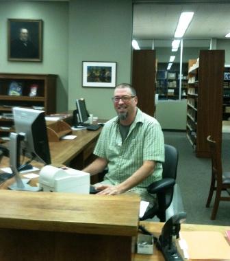 Circulation Assistant Jim Stipemaas