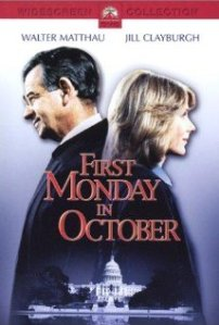 DVD cover First Monday in October