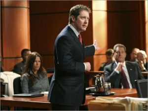 James Spader in Boston Legal.