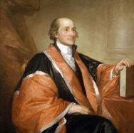 Gilbert Stuart portrait of U.S. Supreme Court Justice John Jay, at the National Gallery of Art
