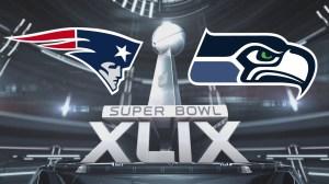 Superbowl 2015 with team logos-courtesy cvsflags.com