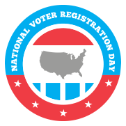 National Voter Registration Day 2015 logo