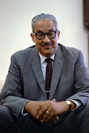 Thurgood Marshall in 1967