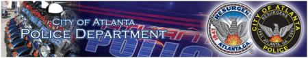 City of Atlantat police dept web banner