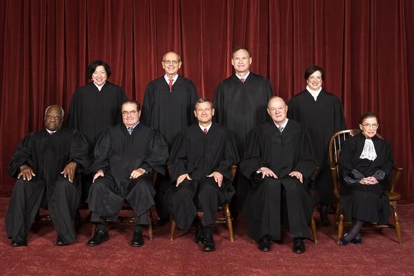 The U.S. Supreme Court, group photo 2010